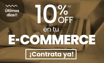 10% de descuento e-commerce